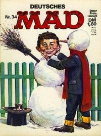 Cover Thumbnail for Mad (BSV - Williams, 1967 series) #34