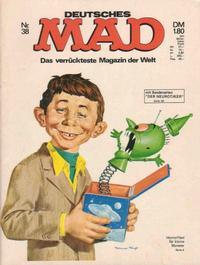Cover Thumbnail for Mad (BSV - Williams, 1967 series) #38