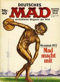 Cover Thumbnail for Mad (BSV - Williams, 1967 series) #40