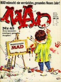 Cover Thumbnail for Mad (BSV - Williams, 1967 series) #45
