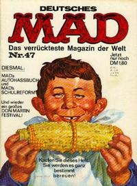 Cover Thumbnail for Mad (BSV - Williams, 1967 series) #47