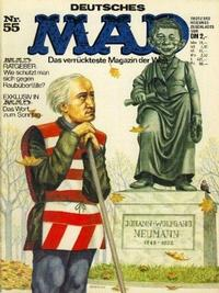 Cover Thumbnail for Mad (BSV - Williams, 1967 series) #55