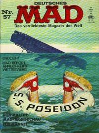 Cover Thumbnail for Mad (BSV - Williams, 1967 series) #57