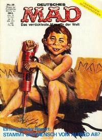Cover for Mad (BSV - Williams, 1967 series) #58