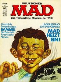 Cover Thumbnail for Mad (BSV - Williams, 1967 series) #59