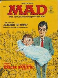 Cover Thumbnail for Mad (BSV - Williams, 1967 series) #81