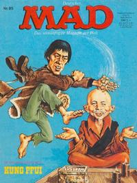 Cover Thumbnail for Mad (BSV - Williams, 1967 series) #85