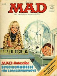 Cover Thumbnail for Mad (BSV - Williams, 1967 series) #93
