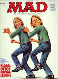 Cover Thumbnail for Mad (BSV - Williams, 1967 series) #96