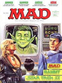 Cover Thumbnail for Mad (BSV - Williams, 1967 series) #165