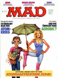 Cover Thumbnail for Mad (BSV - Williams, 1967 series) #172