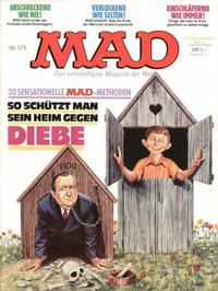 Cover Thumbnail for Mad (BSV - Williams, 1967 series) #175