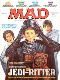 Cover Thumbnail for Mad (BSV - Williams, 1967 series) #177