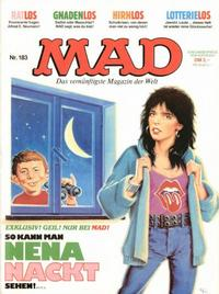 Cover Thumbnail for Mad (BSV - Williams, 1967 series) #183