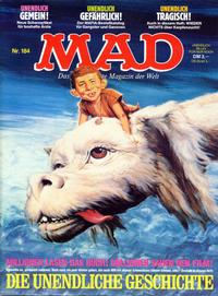 Cover Thumbnail for Mad (BSV - Williams, 1967 series) #184