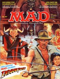 Cover Thumbnail for Mad (BSV - Williams, 1967 series) #187