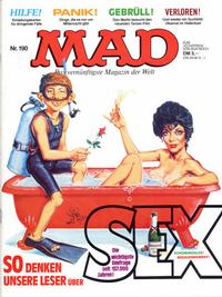 Cover Thumbnail for Mad (BSV - Williams, 1967 series) #190
