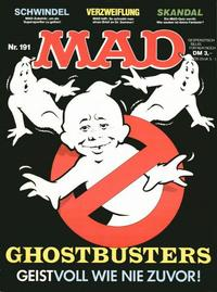 Cover Thumbnail for Mad (BSV - Williams, 1967 series) #191