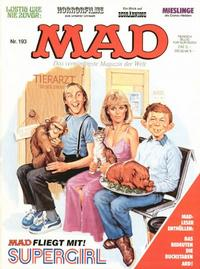 Cover Thumbnail for Mad (BSV - Williams, 1967 series) #193