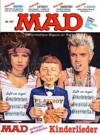 Cover Thumbnail for Mad (BSV - Williams, 1967 series) #197