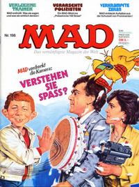 Cover Thumbnail for Mad (BSV - Williams, 1967 series) #198