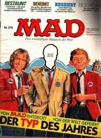 Cover Thumbnail for Mad (BSV - Williams, 1967 series) #210