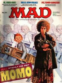 Cover Thumbnail for Mad (BSV - Williams, 1967 series) #211