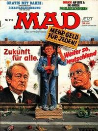 Cover Thumbnail for Mad (BSV - Williams, 1967 series) #213