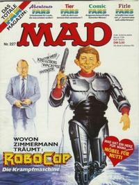 Cover for Mad (BSV - Williams, 1967 series) #227