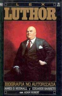 Cover Thumbnail for Lex Luthor: Biografia no autorizada (Zinco, 1990 series)