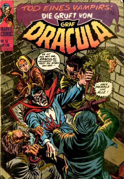 Cover for Die Gruft von Graf Dracula (BSV - Williams, 1974 series) #13