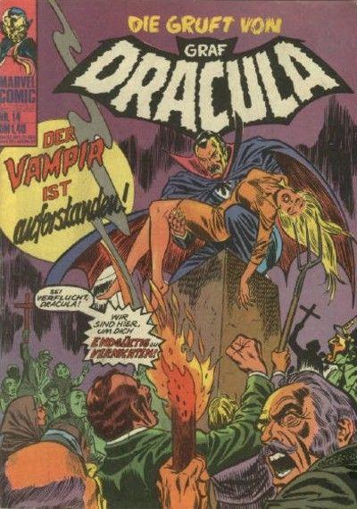 Cover for Die Gruft von Graf Dracula (BSV - Williams, 1974 series) #14