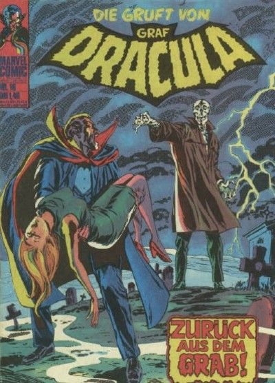 Cover for Die Gruft von Graf Dracula (BSV - Williams, 1974 series) #16
