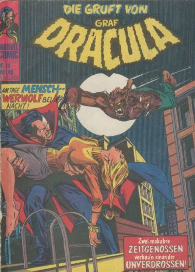 Cover for Die Gruft von Graf Dracula (BSV - Williams, 1974 series) #18