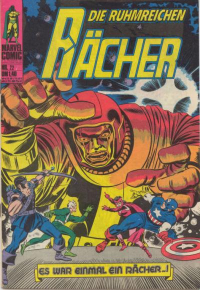 Cover for Die ruhmreichen Rächer (BSV - Williams, 1974 series) #22