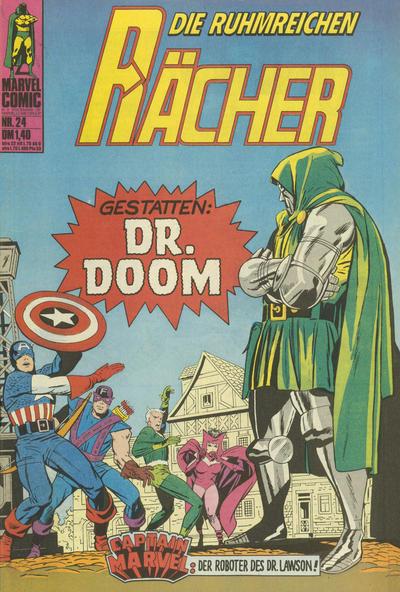 Cover for Die ruhmreichen Rächer (BSV - Williams, 1974 series) #24