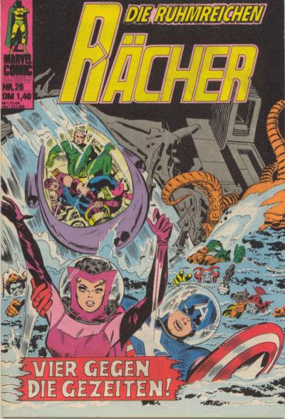 Cover for Die ruhmreichen Rächer (BSV - Williams, 1974 series) #26