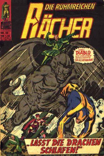 Cover for Die ruhmreichen Rächer (BSV - Williams, 1974 series) #40