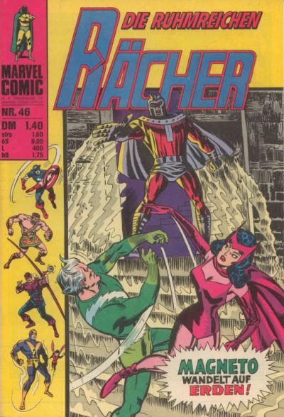 Cover for Die ruhmreichen Rächer (BSV - Williams, 1974 series) #46