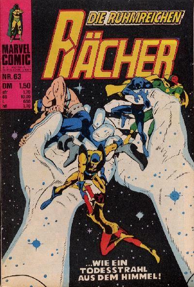 Cover for Die ruhmreichen Rächer (BSV - Williams, 1974 series) #63