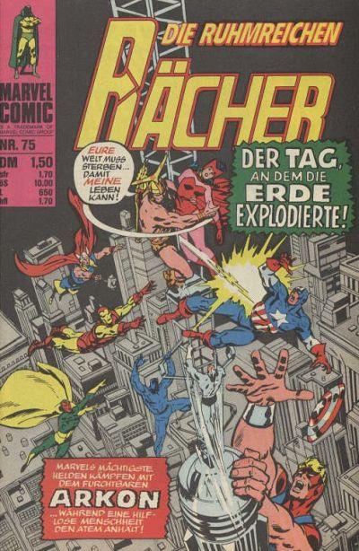 Cover for Die ruhmreichen Rächer (BSV - Williams, 1974 series) #75