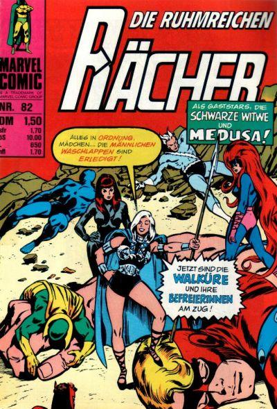 Cover for Die ruhmreichen Rächer (BSV - Williams, 1974 series) #82