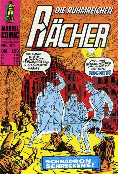 Cover for Die ruhmreichen Rächer (BSV - Williams, 1974 series) #84