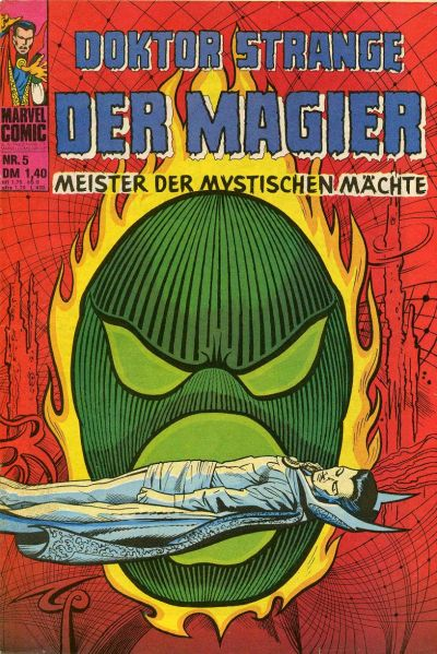 Cover for Doktor Strange der Magier (BSV - Williams, 1975 series) #5