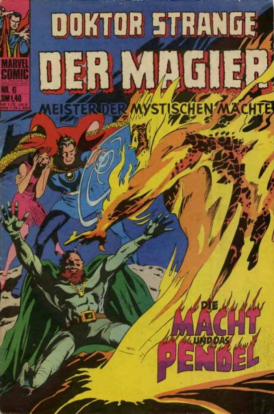 Cover for Doktor Strange der Magier (BSV - Williams, 1975 series) #6