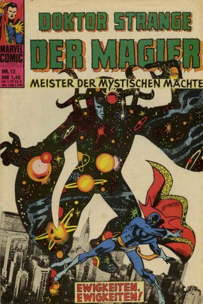 Cover for Doktor Strange der Magier (BSV - Williams, 1975 series) #12