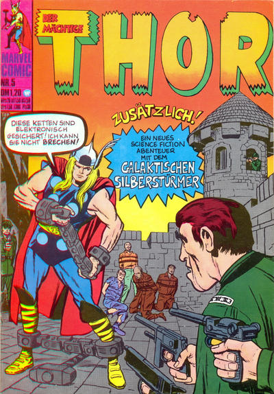 Cover for Thor (BSV - Williams, 1974 series) #5