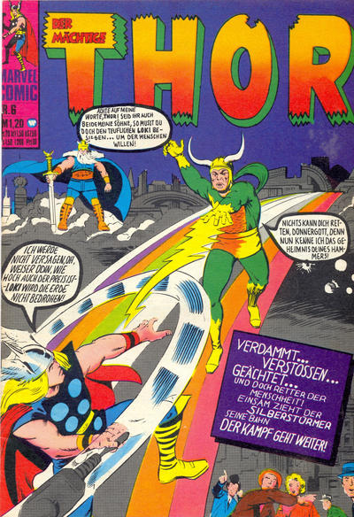 Cover for Thor (BSV - Williams, 1974 series) #6