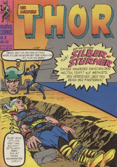 Cover for Thor (BSV - Williams, 1974 series) #9