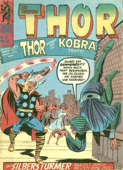 Cover for Thor (BSV - Williams, 1974 series) #16